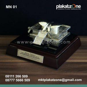 Souvenir Miniatur Gedung Paripurna DPR MPR