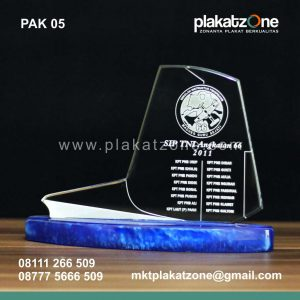 plakat akrilik ready stock grafir elegan
