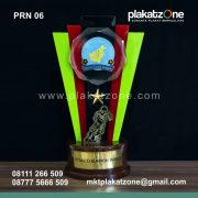 Plakat Resin Piala Futsal Champion Banua League