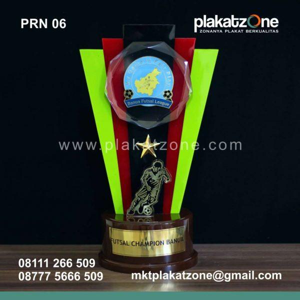 Plakat Resin Piala Futsal Champion Banua League