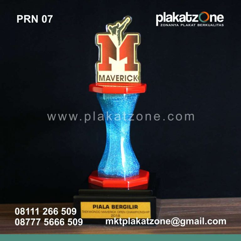 Plakat Resin Piala Bergilir Maverick Taekwondo