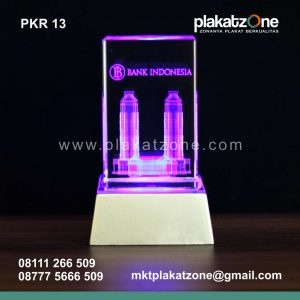 Plakat Kristal Bank Indonesia