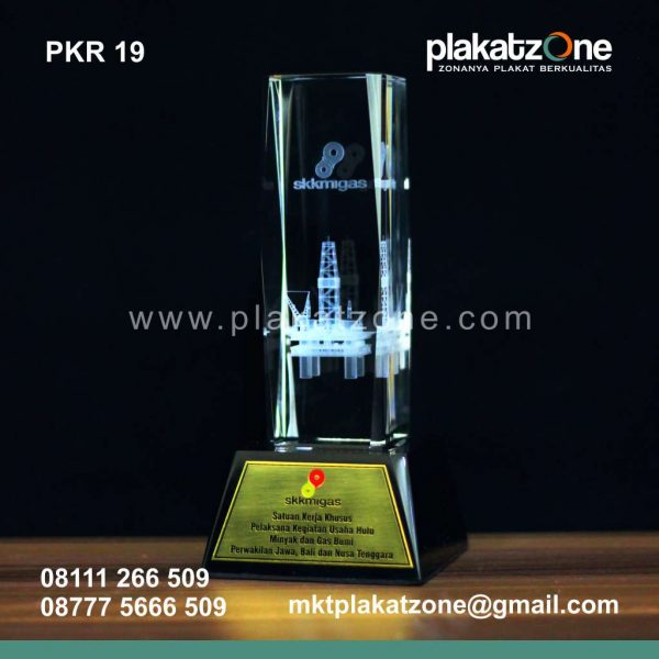 Plakat Kristal SKK Migas 1