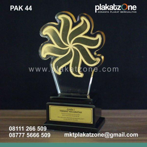 Plakat Akrilik Pelaksana Program Rastra 2017 Kabupaten Ngawi