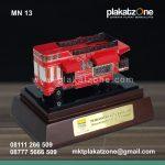 Miniatur Kendaraan Bandung Tour on Bus