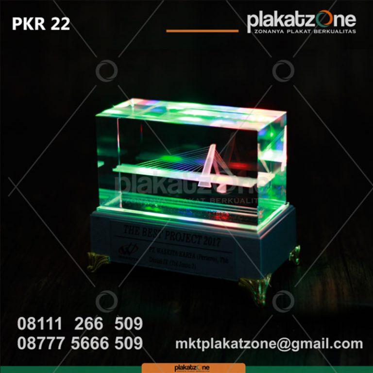 Plakat Kristal Eksklusif PT Waskita Karya (Persero)