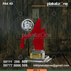 Plakat Akrilik Menghias Mobil Kab. Wonosobo