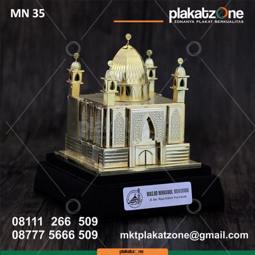 Souvenir Miniatur Masjid Ikhwanul Mukminin