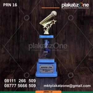Plakat Piala Resin Bintang Radio