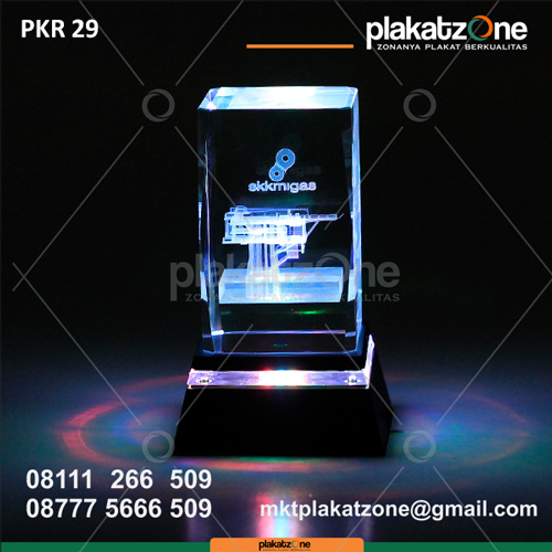 Plakat Kristal Perusahaan SKK Migas - plakatzone