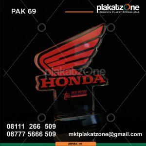 Plakat Akrilik Honda Trio Motor