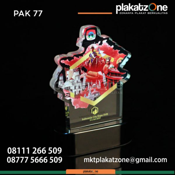 Plakat Akrilik Indonesia City Expo XVIII