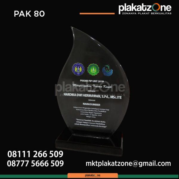 Plakat Akrilik Ucapan Terimakasih PKKMB FIP UNY 2019