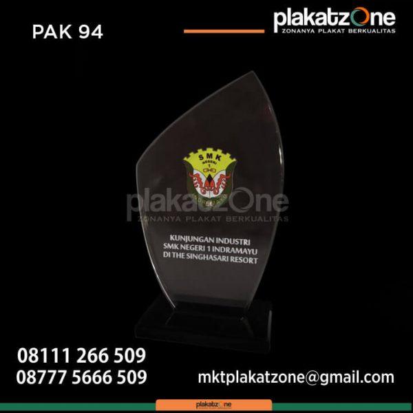 Plakat Akrilik Ready Stock Kunjungan Industri SMK Negeri 1 Indramayu