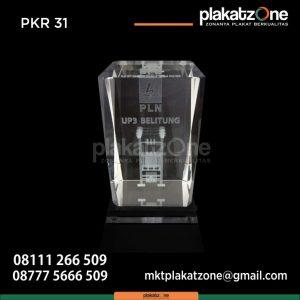 Plakat Kristal PLN UP3 Belitung