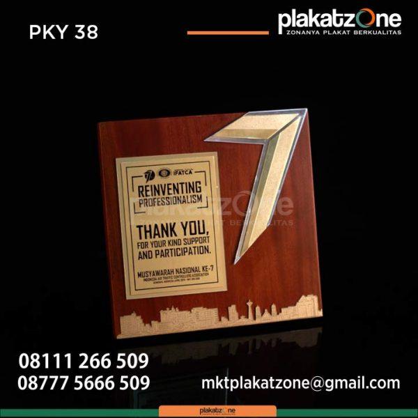 Plakat kayu reinventing profesionalism