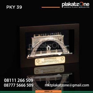 Plakat Kayu Ponpes La Tansa Banten