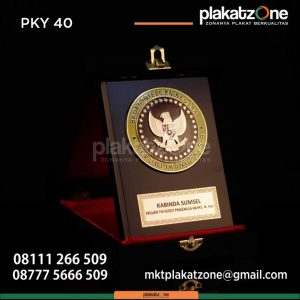 Plakat Kayu Badan Intelejen Negara Republik Indonesia