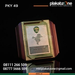 Plakat Kayu Dinas Perkebunan Pemerintah Provinsi Kalimantan Timur