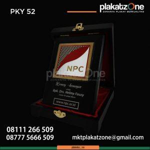 Plakat Kayu Kenang Kenangan NPC