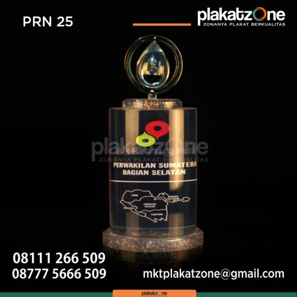 Plakat Resin SKK Migas Perwakilan Sumatera Bagian Selatan