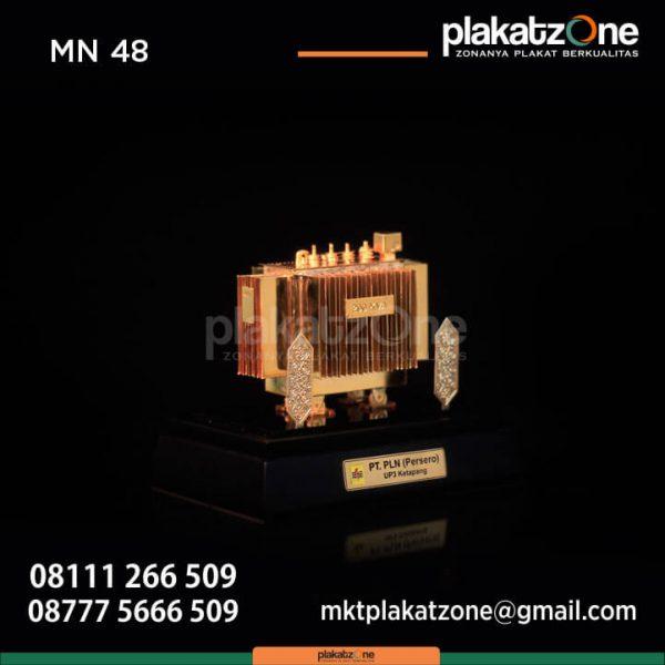 Miniatur Trafo PLN UP3 Ketapang
