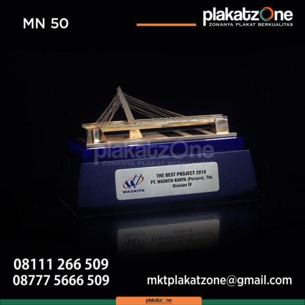 Miniatur Jembatan The Best Project 2018 PT Waskita Karya
