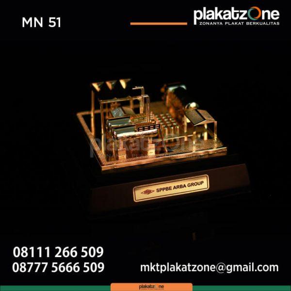 Miniatur Bangunan SPBE Arba Group