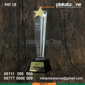 Trophy kristal bca