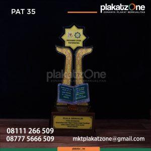 Desain Piala MTQ Prodi Matematika Surabaya Eksklusif