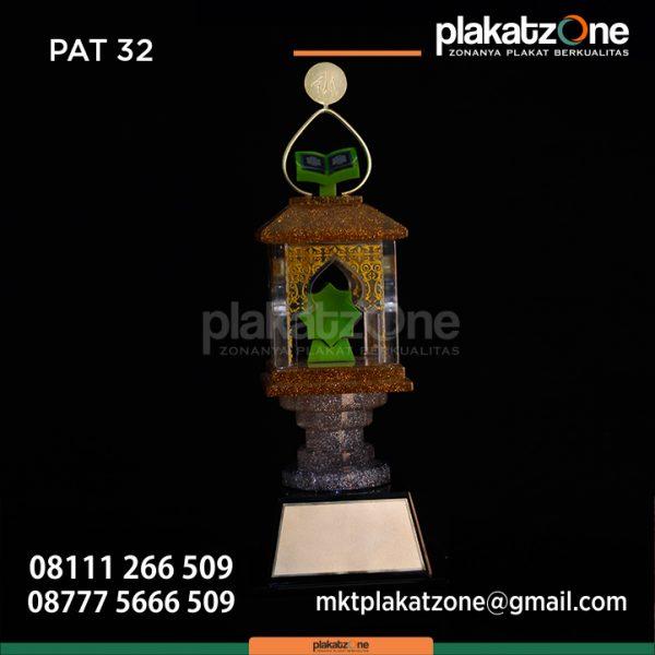 Desain Piala MTQ Dari Bahan Resin