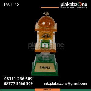 Contoh Piala MTQ Custom Bentuk Masjid
