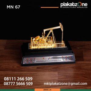MN67 Souvenir Miniatur Angguk Kecil