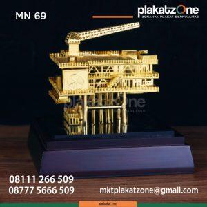 MN69 Miniatur Rig Offshore