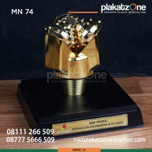 MN74 Souvenir Miniatur PDC SKK Migas Kalimantan Sulawesi (1)