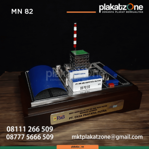 MN82 Souvenir Miniatur PT PJB UJB O&M PLTU Paiton
