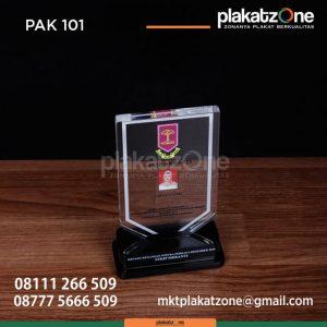 PAK101 Plakat Akrilik Wisuda STKIP Meranti