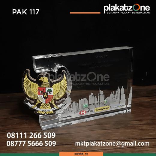 PAK117 Plakat Akrilik Perusahaan Penerbit SBSN Indonesia III