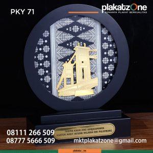 PKY71 Plakat Kayu Bulat BRI Palembang