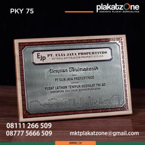 PKY75 Plakat Kayu PT Elia Jaya Propertindo