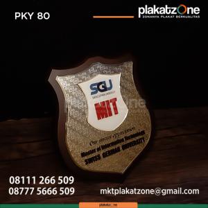PKY80 Plakat Kayu SGU MIT