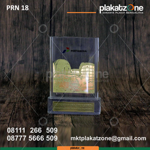 PRN18 Plakat Resin Pertamina