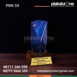 PRN33 Plakat Resin PT Bukit Asam