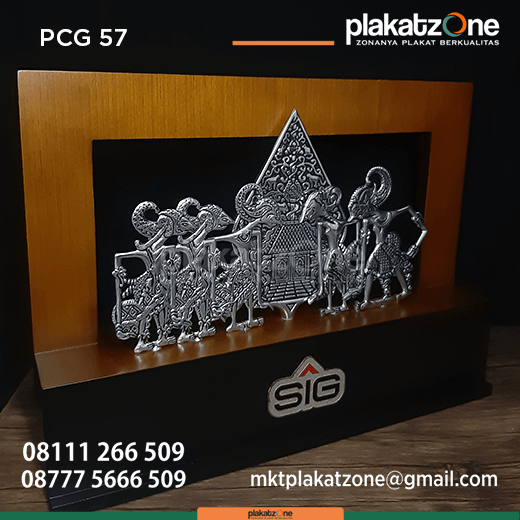 PCG57 Souvenir Perusahaan Kayu Pandawa SIG - Souvenir Perusahaan Kayu Wayang